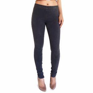 Joe's Jeans Pants - Joe's charcoal zippered jeggings