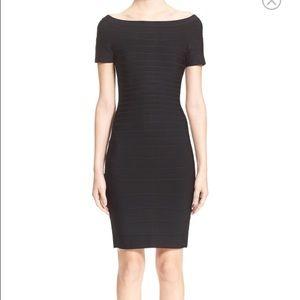 Herve Leger Dresses & Skirts - Herve leger off the shoulder carmen dress size xs