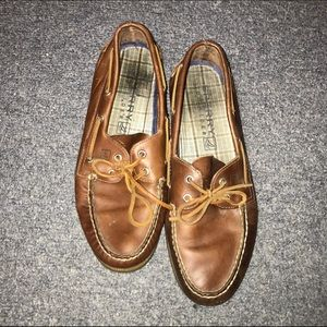 Sperry Top-Sider Other - FINAL PRICE Mens brown leather sperrys