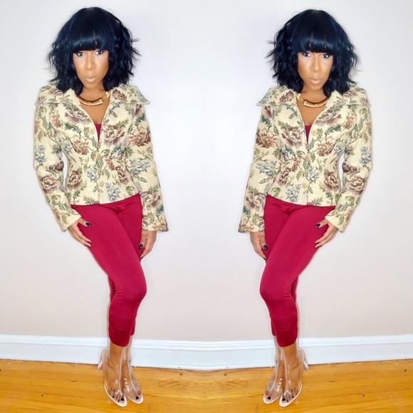 Jackets & Blazers - Woven Tapestry Blaze