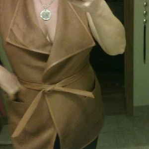 Jackets & Blazers - NWOT Carmel wrap jacket