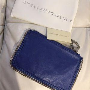 Stella McCartney Handbags - Royal blue clutch coin purse wristlet bag