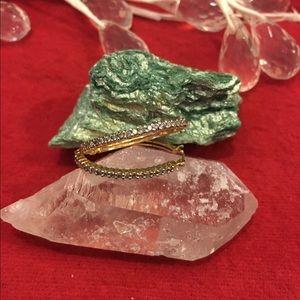 Splendeur's Boutique Jewelry - ✨💯Authentic Diamonds Loop Earrings set in Gold✨