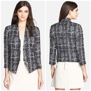 Trouve Jackets & Blazers - Trouve Textured Zip Blazer