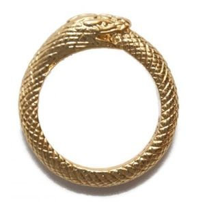 Black Scale Jewelry - Snake Ring