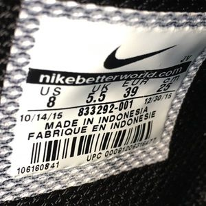 Nike Huarache Aire Señoras Negras De Pelo SkGiKe0fOE