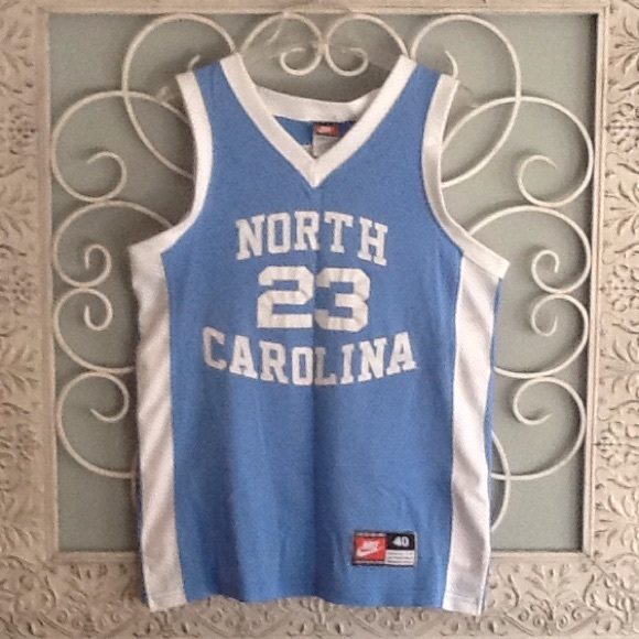 separation shoes 2abbc 8bab2 Michael Jordan Authentic Nike Vintage UNC Jersey