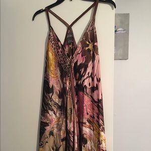 Dresses & Skirts - Silk floral dress