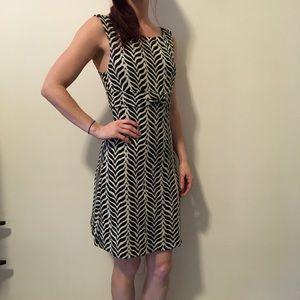"Diane von Furstenberg Dresses & Skirts - DVF Black & White ""Boyd"" Printed Dress"
