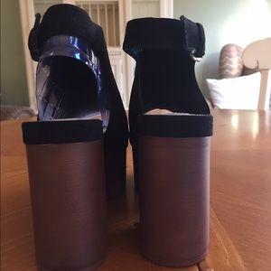 Forever 21 Shoes - Faux Suede Platform Sandals