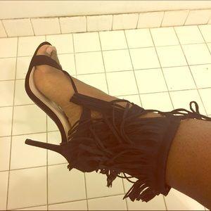 Wild Diva Shoes - Fringe Shoes 👠