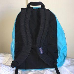 67c0ab8a17d Jansport Bags - NWOT Blue Crest JanSport Big Student Backpack 🌎