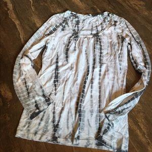 Allen Allen Tops - Tie dye long sleeve shirt