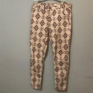 Pants - Patterned Pants