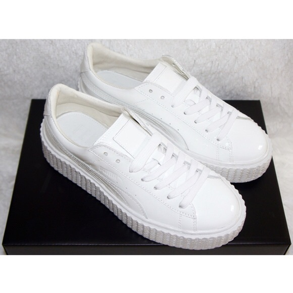 big sale d2cbe d7e00 Puma creepers white leather