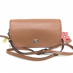 NEW Authentic Coach Leather Crossbody 38495