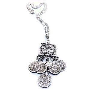 Jewelry - Brand-new bohemian silver colored long necklace