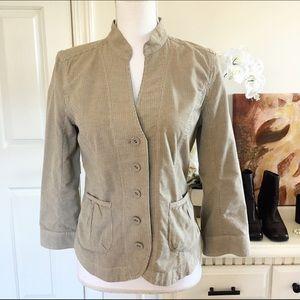 NIC + ZOE Jackets & Blazers - Nic + Zoe Pin Striped Cotton Blend Blazer Jacket