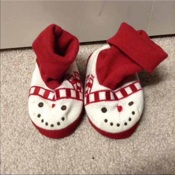Baby Christmas Slippers   Poshmark