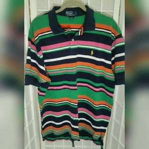 Ralph Lauren Other - Men's striped Ralph Lauren Polo XL