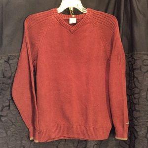 Columbia Sweaters Mens Burnt Orange Sweater L Poshmark