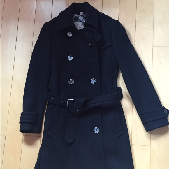 burberry jackets coats brit balmoral wool cashmere. Black Bedroom Furniture Sets. Home Design Ideas