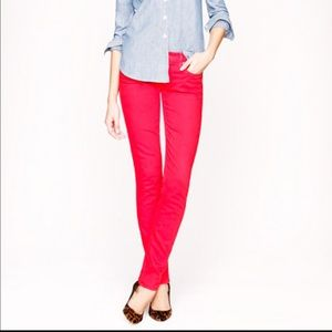 J. Crew Denim - ⚡️SALE⚡️J. Crew Red matchstick denim
