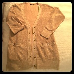 J. McLaughlin Sweaters - J.McLaughlin XS Gold Cardigan