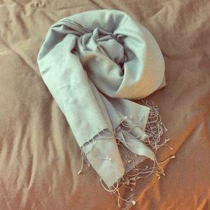 Accessories - Pashmina scarf light blue, brand new