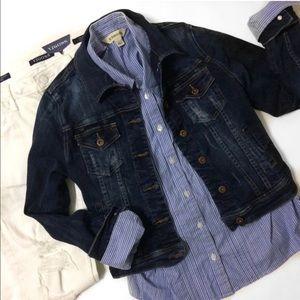Heritage 1981 Jackets & Blazers - ✨SALE✨F21's Heritage 1981 Distressed Jean Jacket