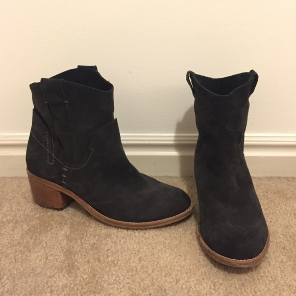 Dolce Vita Shoes - Dolce Vita Graham or Grayden suede bootie, sz 8.5