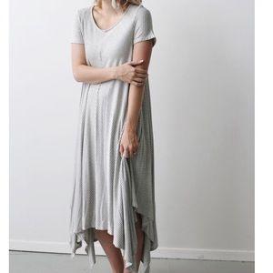 Flowy Striped Dress