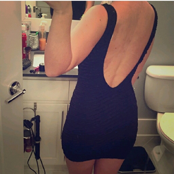 Arden B Dresses - Backless Black Dress