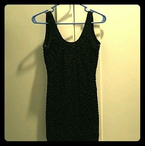 *Backless Black Dress*