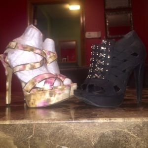 BUNDLE deal- 2 pairs of Jessica Simpson pumps