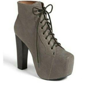 Jeffrey Campbell Shoes - Jeffrey Campbell Lita Gray Boots