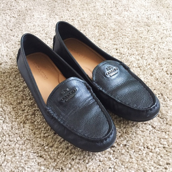 9ce51d92d07 Coach Shoes - Coach Mary Lock Up loafers flats in black