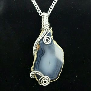 DGwiring Jewelry - AGATE: calming, soothing, consciousness