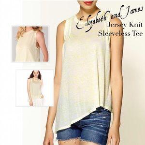 Elizabeth and James Tops - ✨Elizabeth & James Modal Knit Sleeveless Tee NWT✨