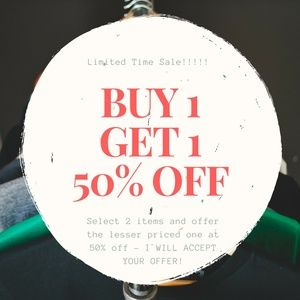 Dresses & Skirts - BUY 1 GET 1 50% OFF LESSER PRICED ITEMS IN BUNDLE