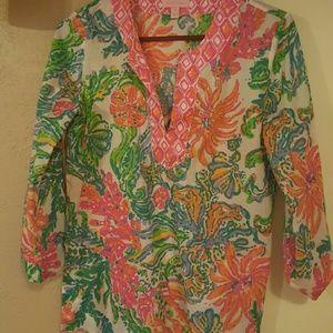 Lilly pulitzer tunic