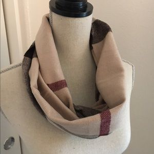 New brown scarf