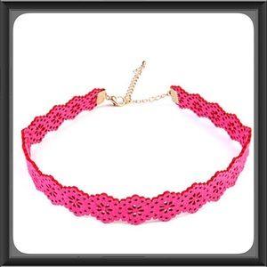 Jewelry - Fuchsia Choker
