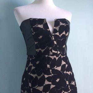 Mason Dresses & Skirts - Mason Black Lace Strapless Dress
