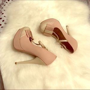 ANDREA FENZI Shoes - Andrea pink bone 👠