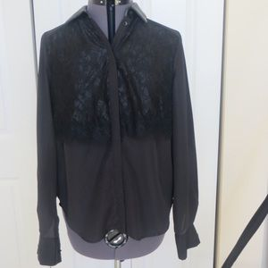 Prabal Gurung for Target Tops - Size S Prabal Gurung x Target Lace and Leather Top
