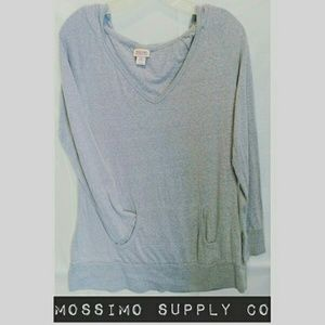 Mossimo Supply Co. Tops - 🎉🎇Mossimo Supply Co Athleisure Hooded Tee