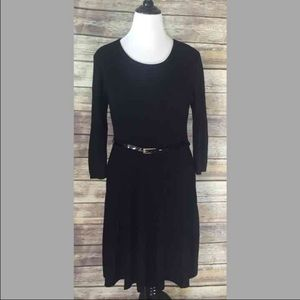 Say What? Dresses & Skirts - Say What Plus Size 2X Sweater dress black Ribbed