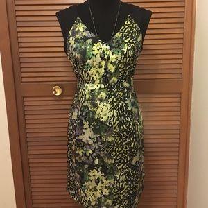 Andrew Marc Dresses & Skirts - Marc New York Andrew Marc dress 10 Green & black