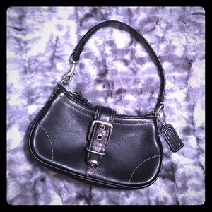 Coach Handbags - Black leather Coach bag